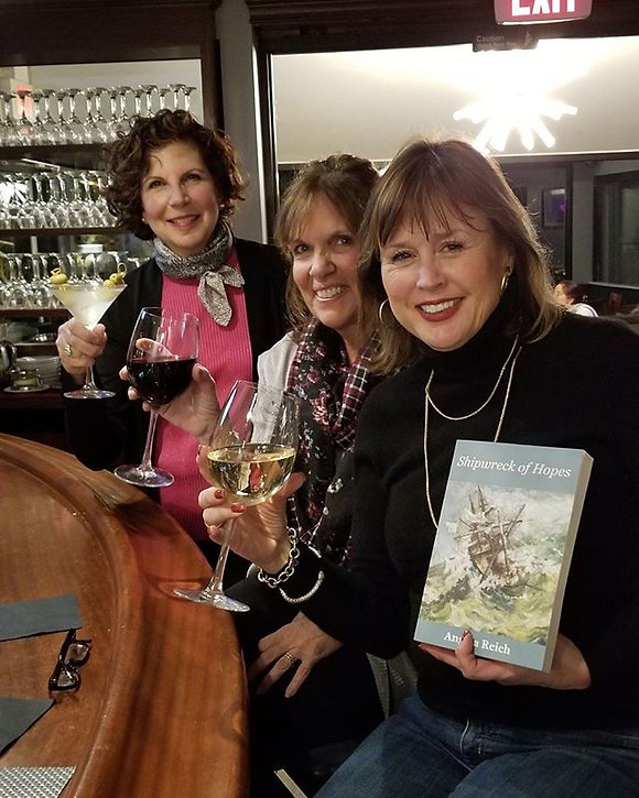 And after the Book Talk on SHIPWRECK OF