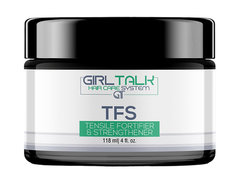 GIRL TALK HAIR CARE SYSTEM: ANTI-BREAKAGE TFS TENSILE FORTIFIER AND STRENGTHENER