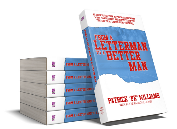 FROM A LETTERMAN TO A BETTER MAN