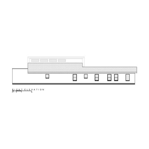 Pérez Gómez Arquitectura: English House Alzado Este