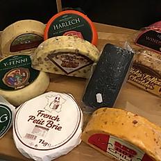 Cheese per 100g