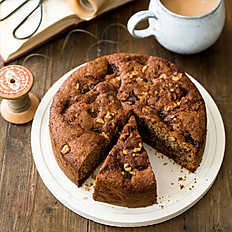6 inch Date and Walnut Cake