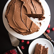6 inch Chocolate cake