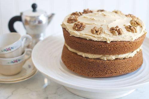 6 inch - Coffee and Walnut Cake