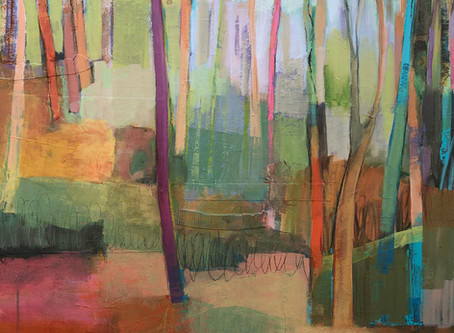 Abstract Landscape Class, Fall 2020, Great Falls School of Art