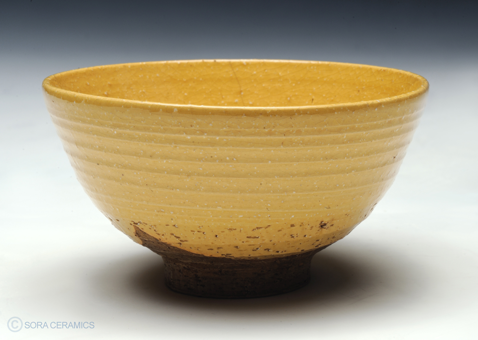 Tea bowl, yellow