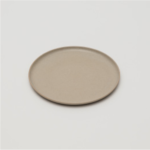 KN-Plate-160-Gray-Clay