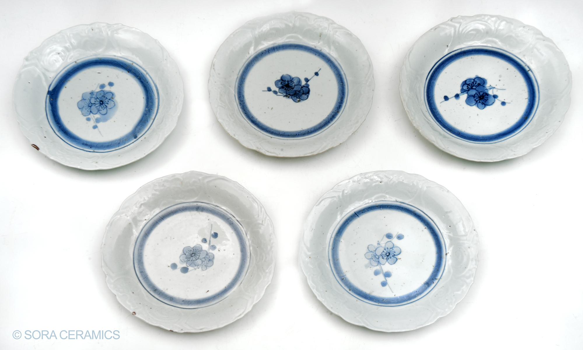 Shoki Imari plates