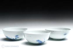 Hirado rice bowl set