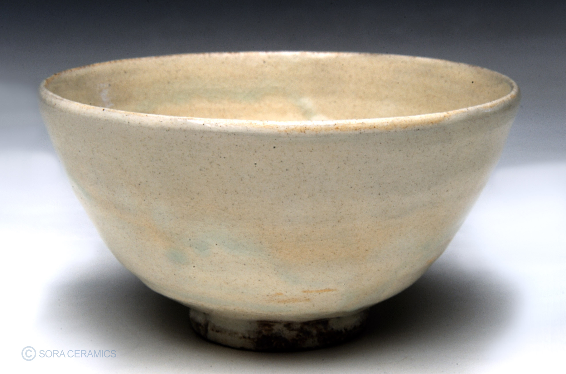 Tea bowl, white
