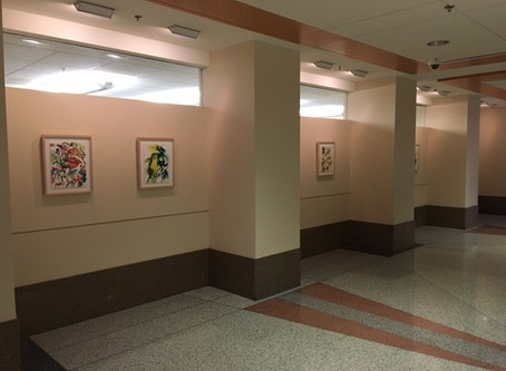 NIH Exhibit -Medicinal Botanical Paintings by Jennifer Duncan