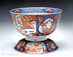 Imari lidded bowls