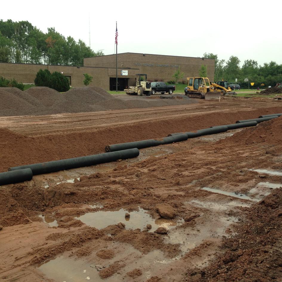 Four Corners & Lake Superior Elementary Schools Parking Lot Upgrades