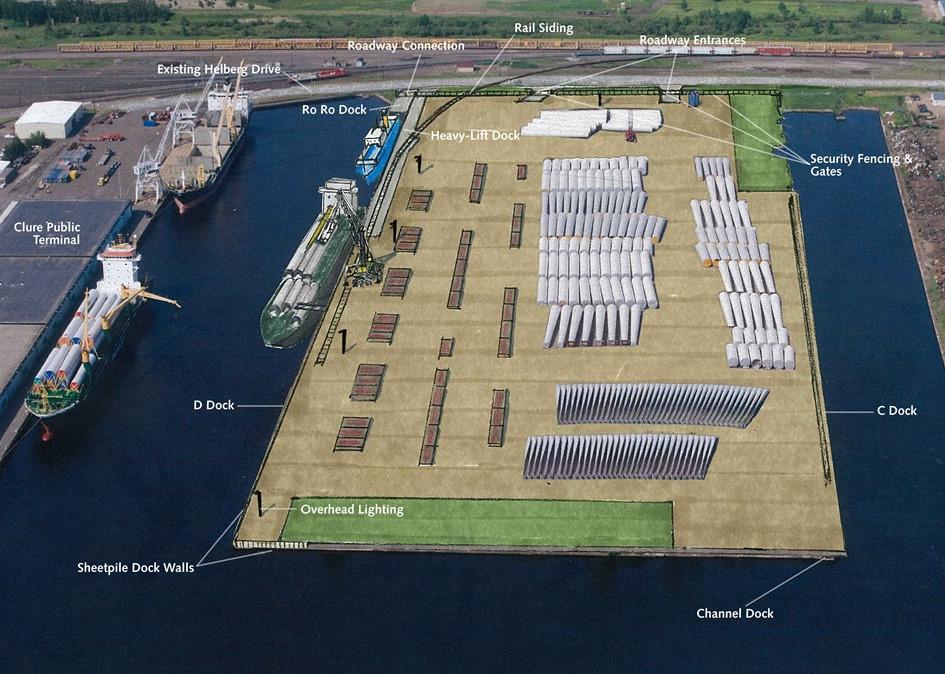DSPA Dock C & D Rehabilitation