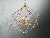 Gold Geo Prism Chandelier 1.jpg