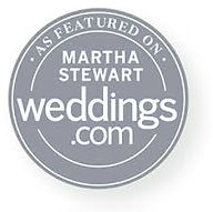 As Seen On Martha Weddings Circle Grey.j