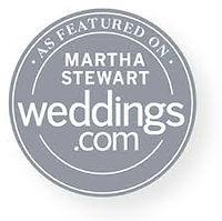 As Seen On Martha Weddings Circle Grey.j