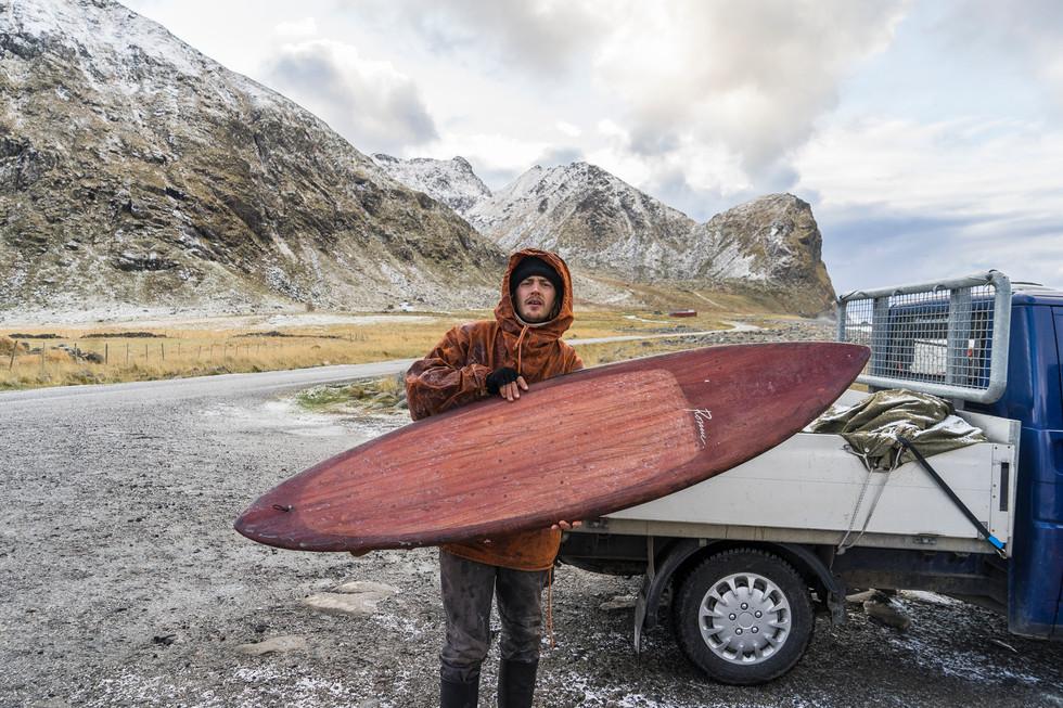 THE ROCKER OF JUNK; MEET FINNISH ECO SURFBOARD BUILDER ELVIS