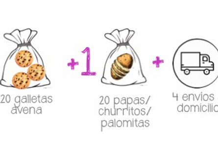 Paquete de 4 Itacates