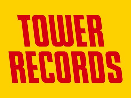 タワーレコードにて販売開始!