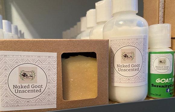 Naked Goat (Unscented) Goat Milk Soap