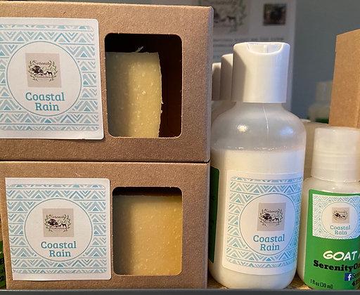 Coastal Rain Goat Milk Soap