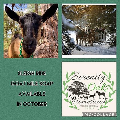 Sleigh Ride Goat Milk Soap