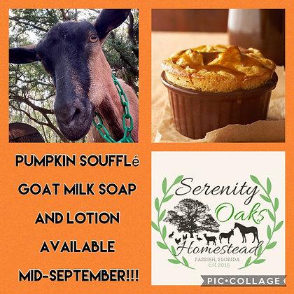 Pumpkin Soufflé Goat Milk Soap