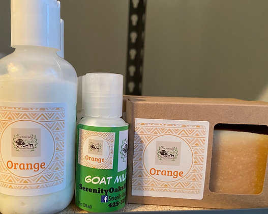 Orange Goat Milk Lotion