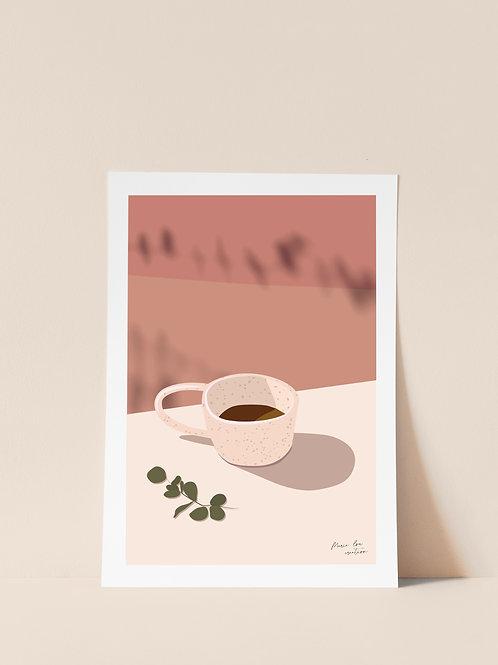 "Affiche ""Café du lundi"""