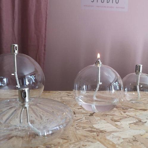 Lampe à huile sphere