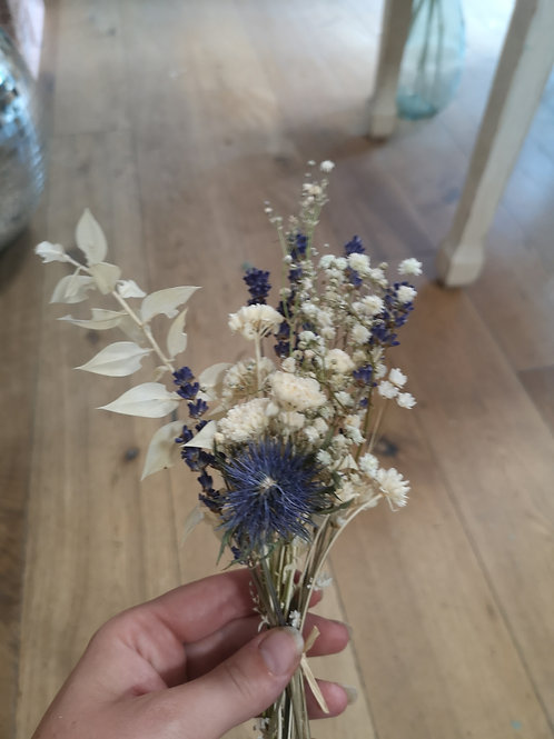 Petit bouquet bleu