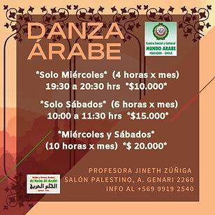 Danza Arabe 2021