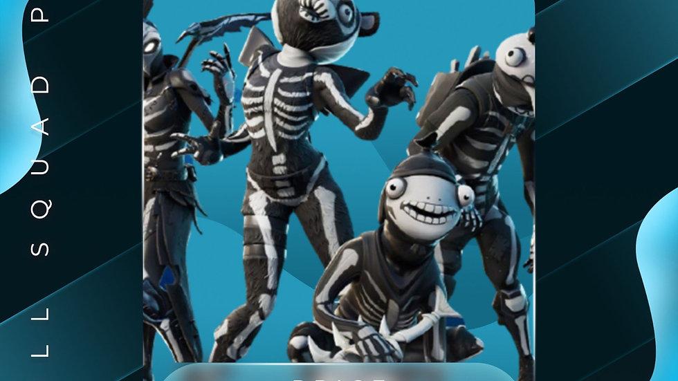 Skull Squad pack (XB1 code)