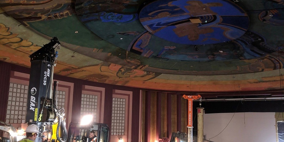 Vision Theatre Renovation Tour