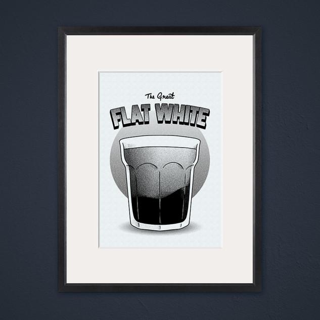 SOLD - Flat White