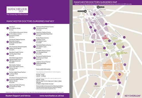 University of Manchester GP Maps