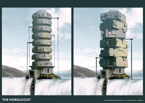 Horologist Concept Art - Exterior