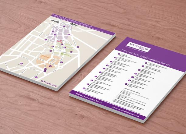 University of Manchester GP Map Mockup