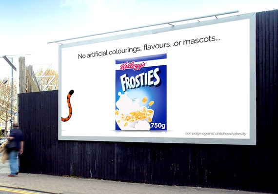 (WIN!) Advert for cereal without mascots