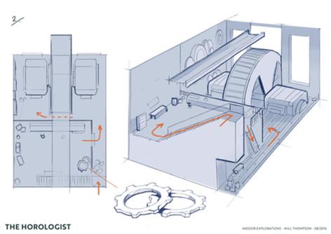 Horologist Concept Art - Interior 2