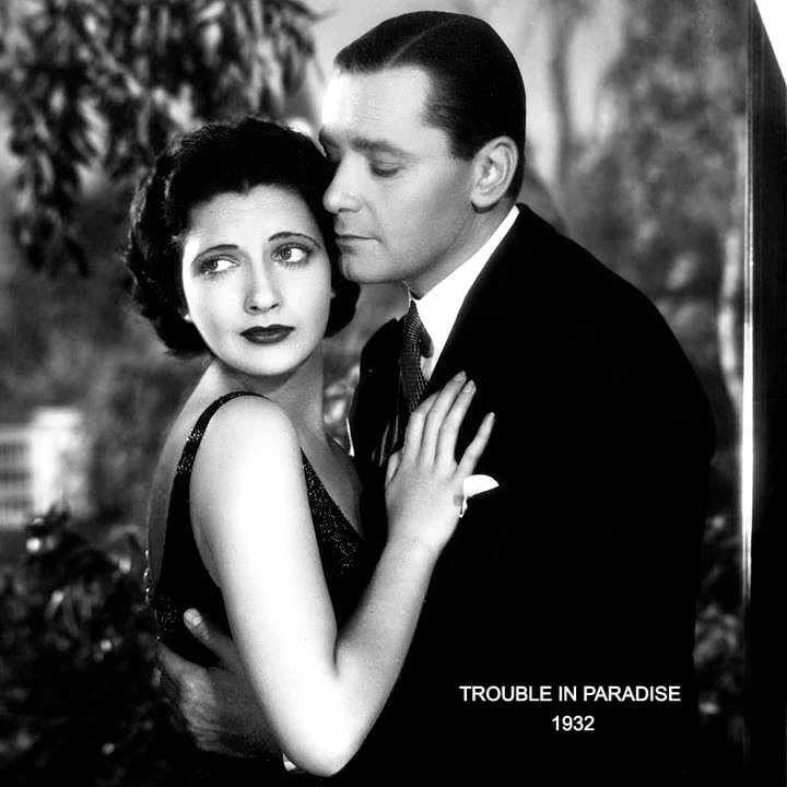 With Herbert Marshall in Trouble In Paradise