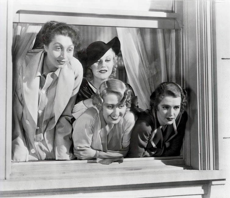 The original Sex In The City girls, Blondell, Keeler, Rogers, and MacMahon 1933