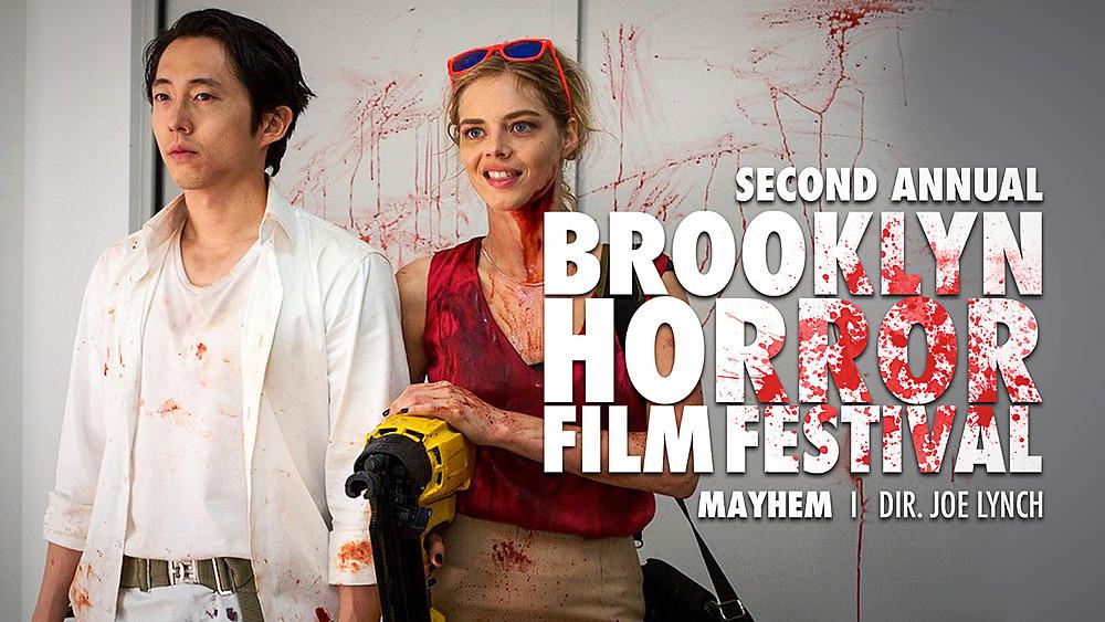 Mayhem with Director Joe Lynch at Brooklyn Horror Film Festival
