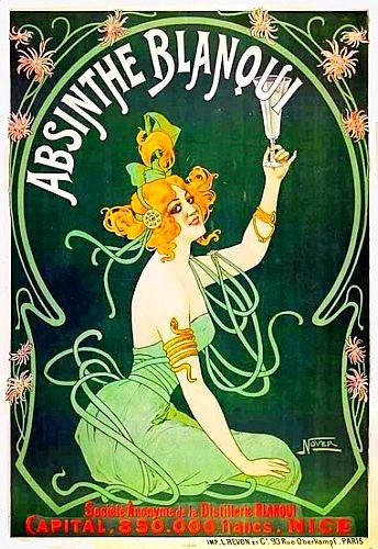 Art Nouveau Absinthe