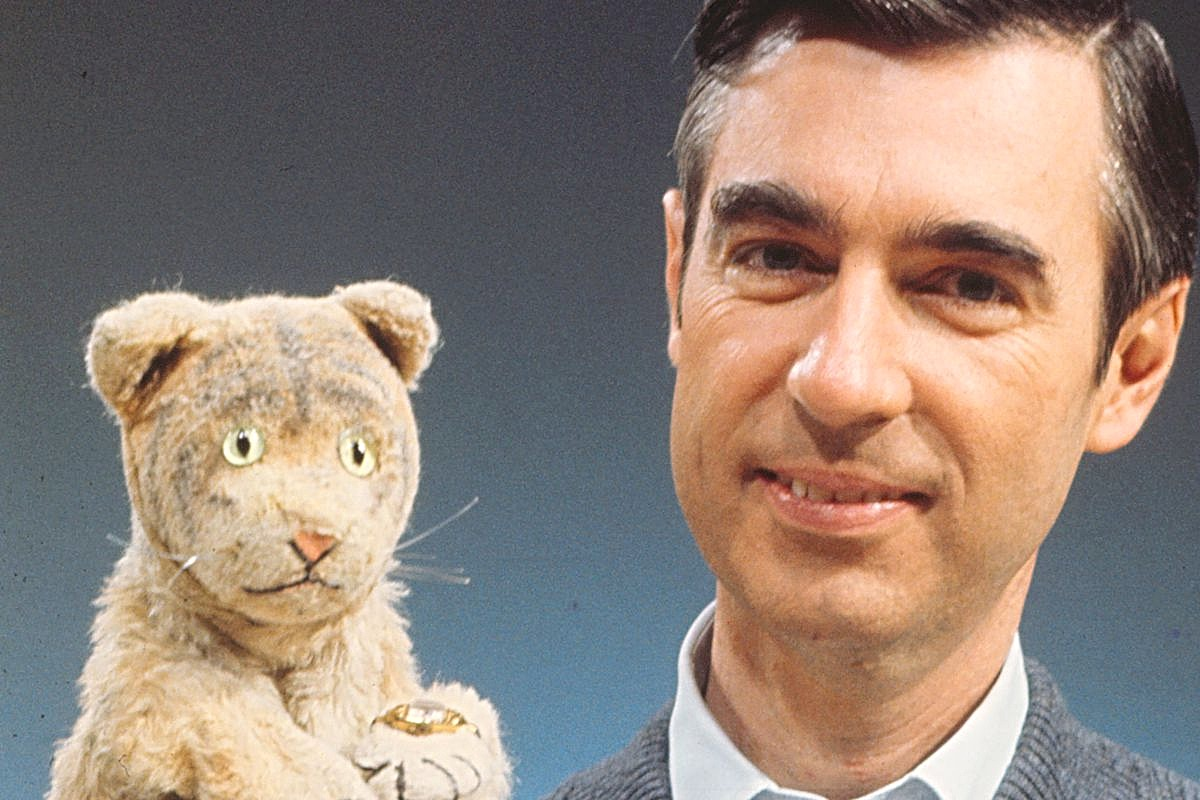 Fred with Daniel Tiger