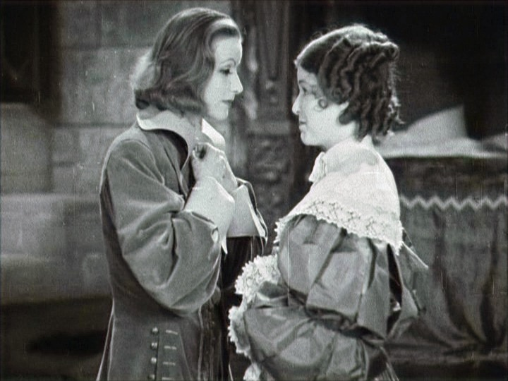 Garbo plays lesbian Queen Christina of Sweden