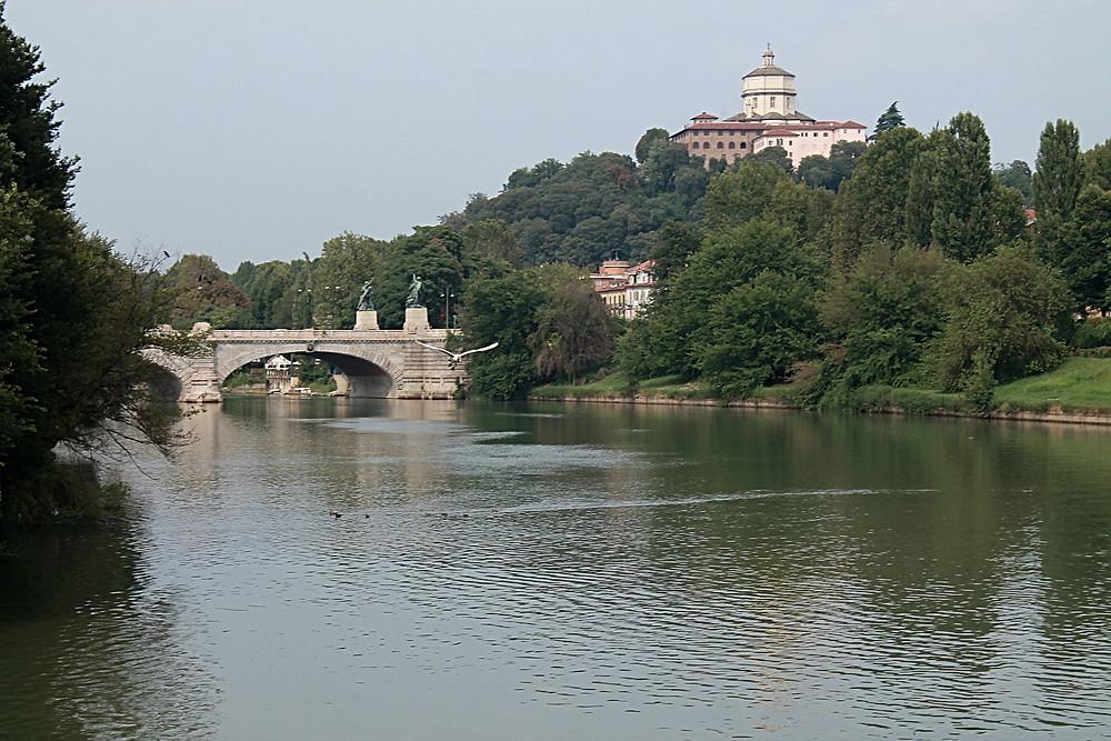 Cross the bridge to get to Villa Scott