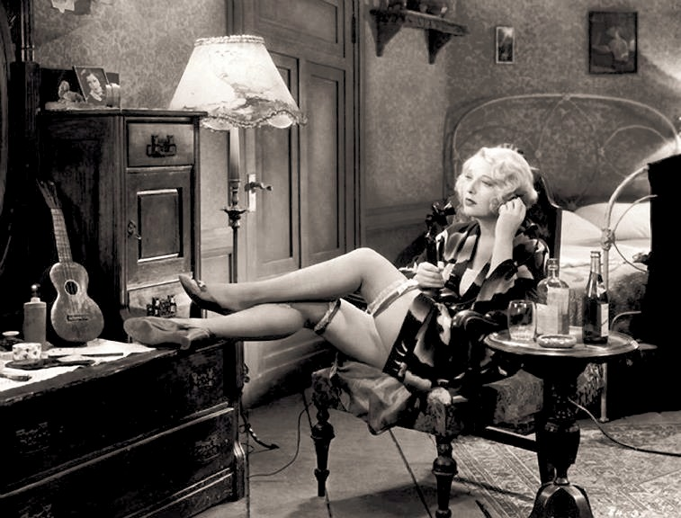 Dorothy MacKaill in Safe In Hell 1931 a pre-Code classic