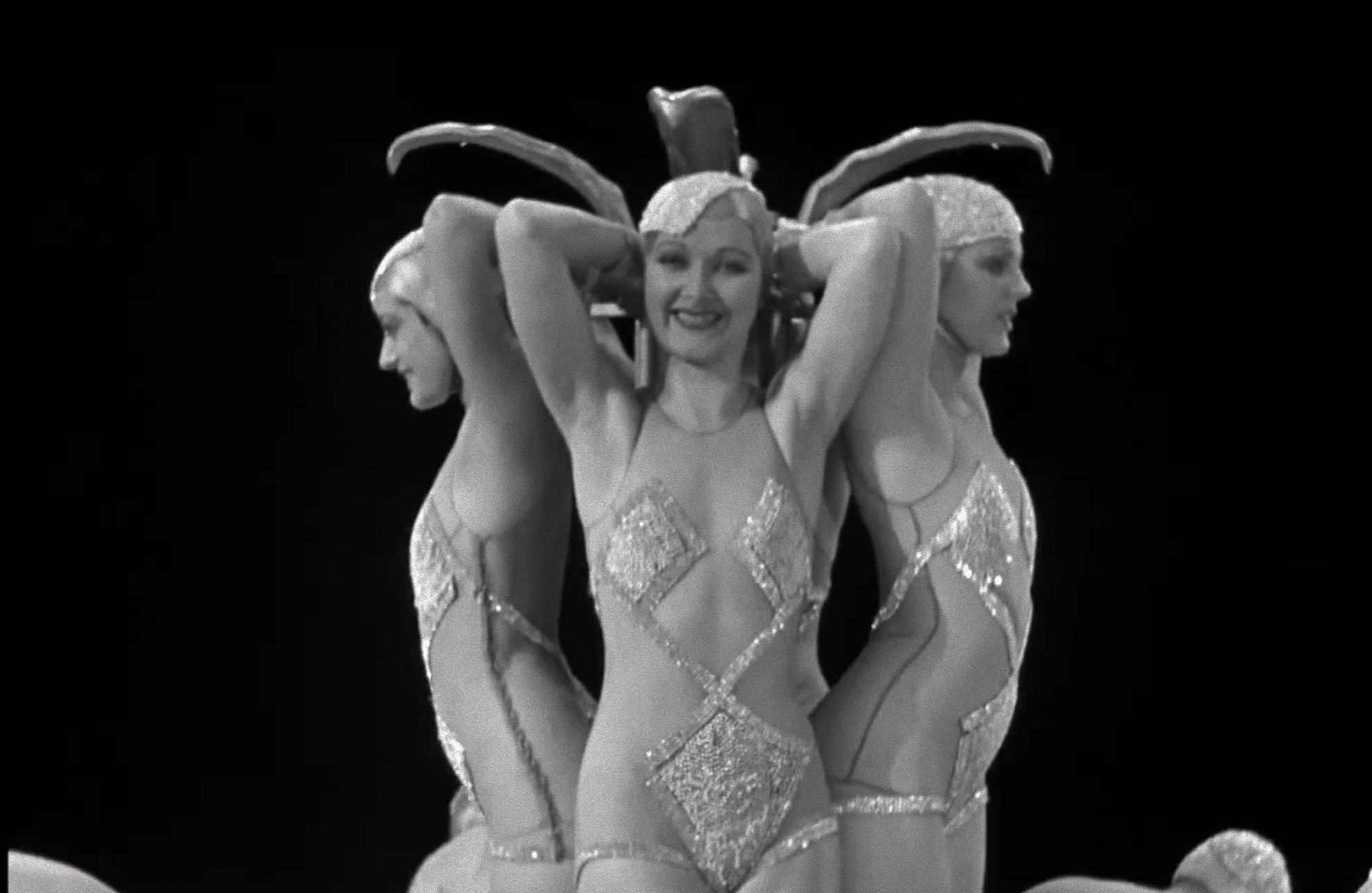 Barely clad Busby Berkeley babes in Footlight Parade 1933